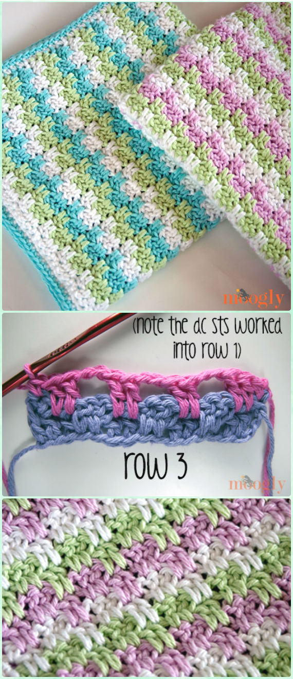 Crochet Block Blanket Free Patterns