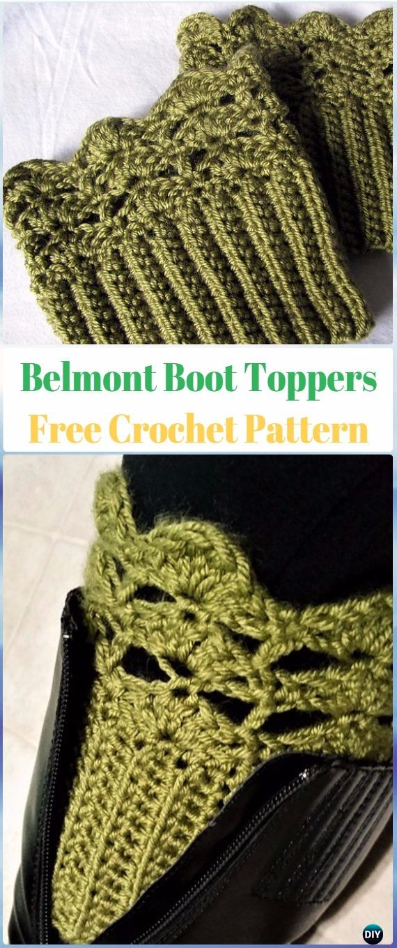 Crochet Boot Cuffs & Toppers Free Patterns & Tutorials