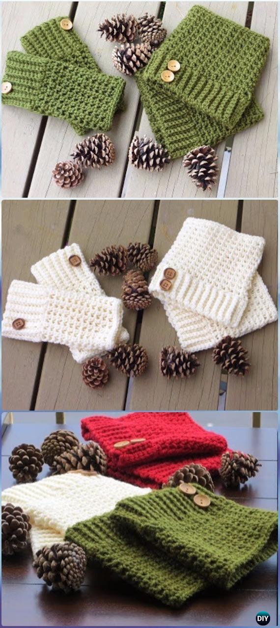 Crochet Brooklyn Boot Cuffs Free Pattern - Crochet Boot Cuffs Free Patterns