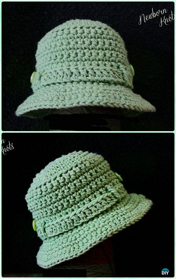 27aada2be58 Crochet Fishing Tilly Hat Free Pattern - Crochet Boys Sun Hat Free Patterns