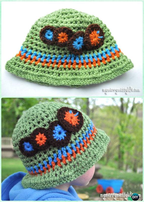 Crochet Boys Sun Hat Free Patterns Amp Instructions