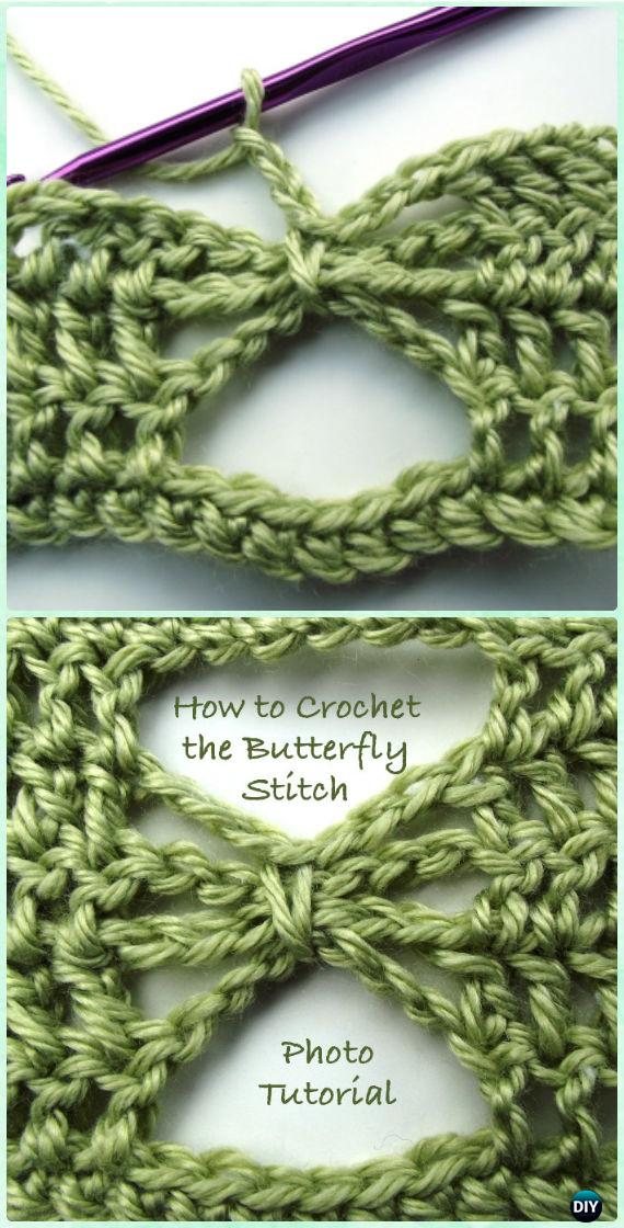 Crochet Butterfly Stitch Free Pattern - Crochet Butterfly Stitch Free Patterns