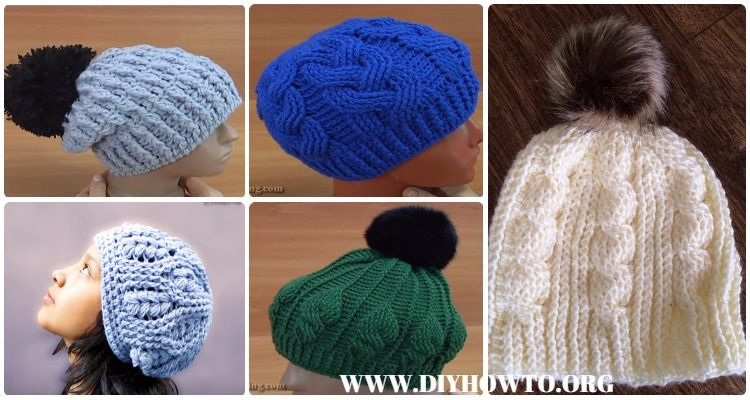 Crochet Cable Hat Free Patterns 01cf2ddb4a5c