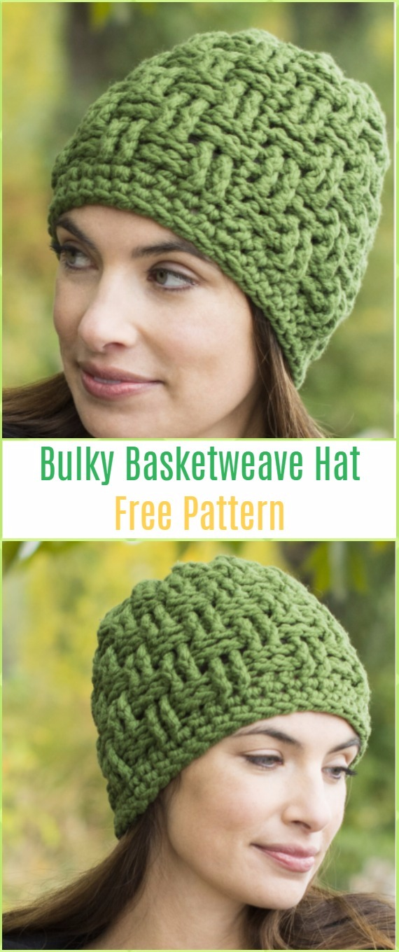 Crochet Cable Hat Free Patterns
