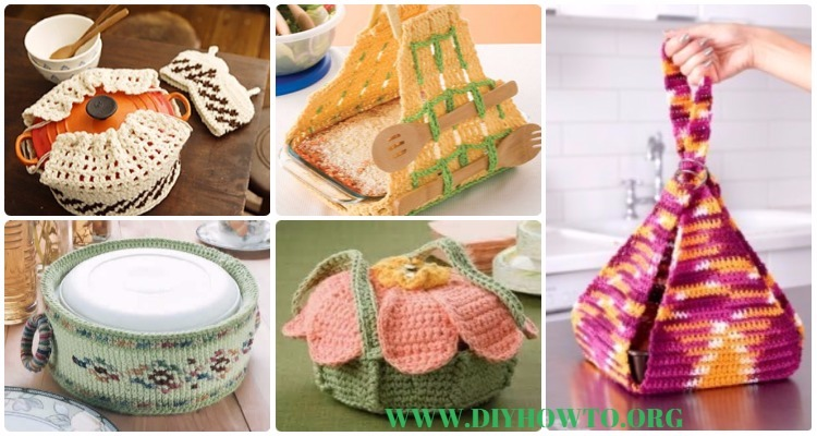 Crochet Casserole Carrier Free Patterns [Instructions]