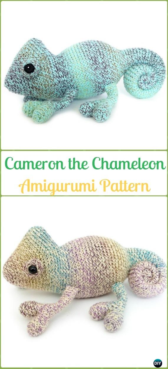 4 Fabulous Crochet Lizard Patterns - A Mini Round-up ⋆ Look At ... | 1250x570