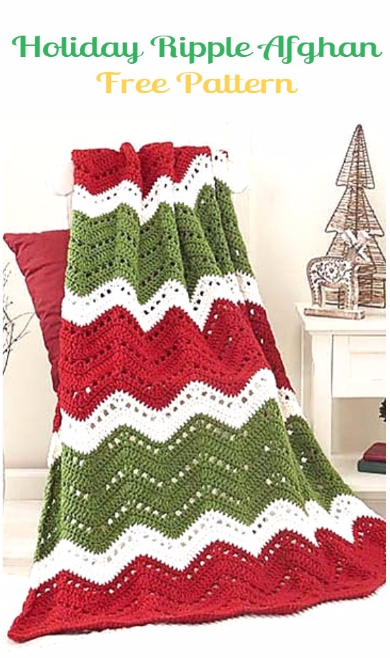 Crochet Christmas Blanket Free Patterns Amp Tutorials