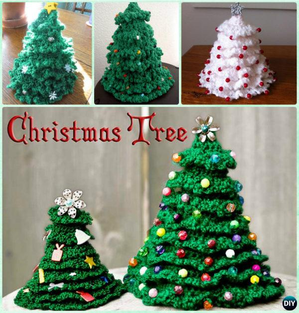 3D Crochet Christmas Tree Free Pattern