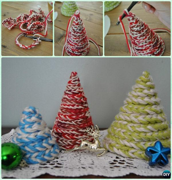 Crochet Chain Christmas Tree Free Pattern Instruction - Crochet Christmas Tree Free Patterns