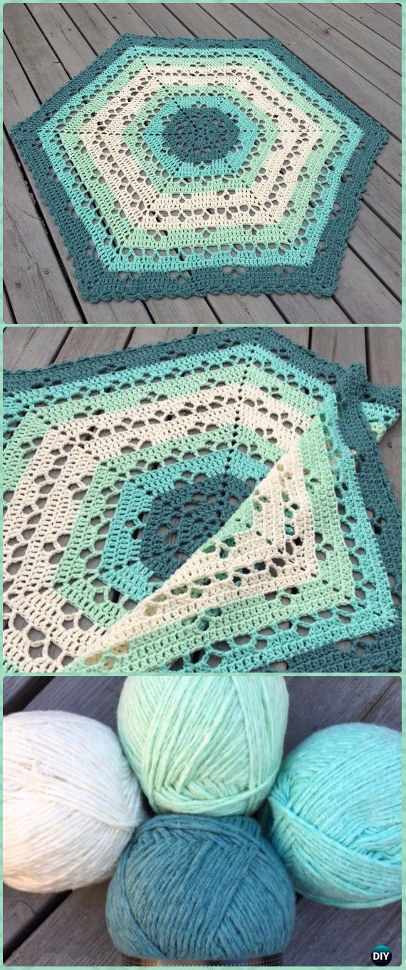 Crochet Cloudberry Blanket Free Pattern - Crochet Circle Blanket Free Patterns