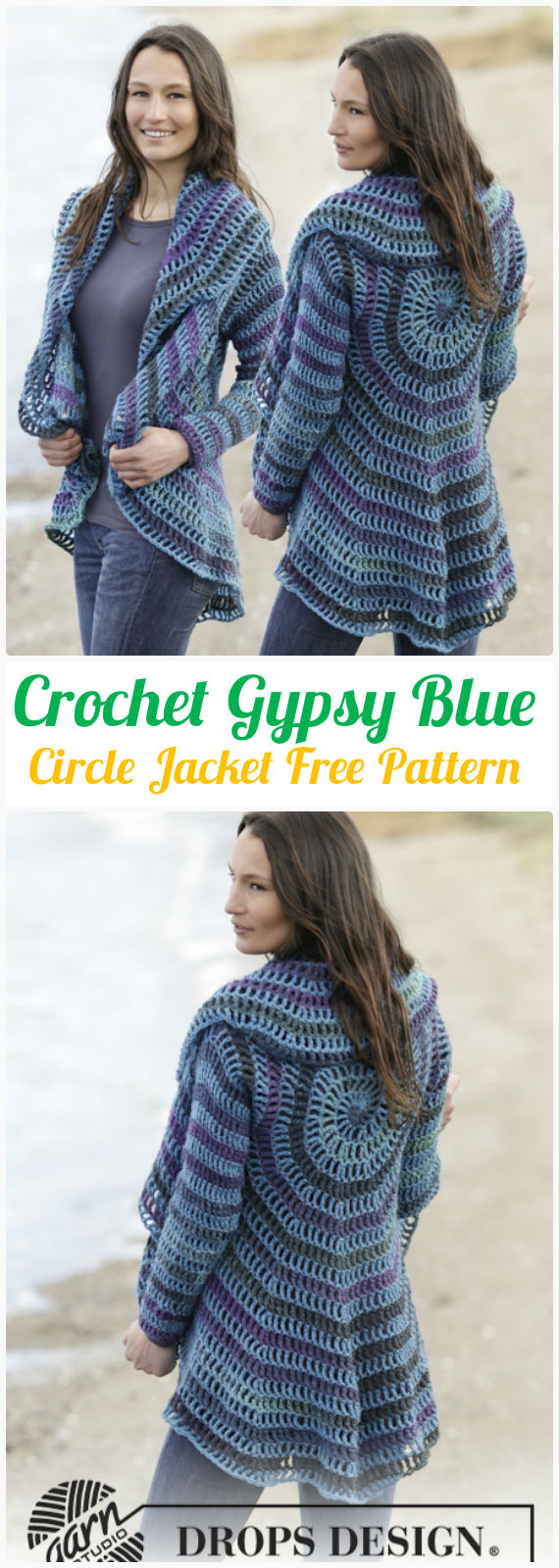 Diy crochet circular vest sweater jacket free patterns diy crochet gypsy blue circle jacket free pattern crochet circular vest sweater jacket patterns bankloansurffo Choice Image
