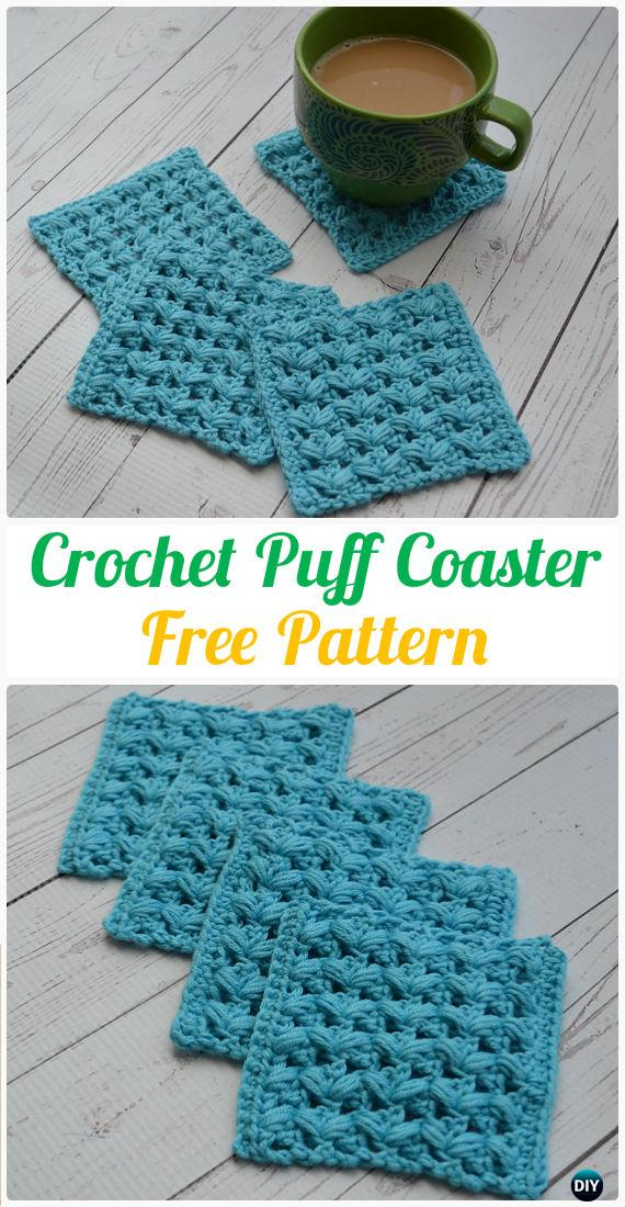 Crochet Coasters Free Patterns