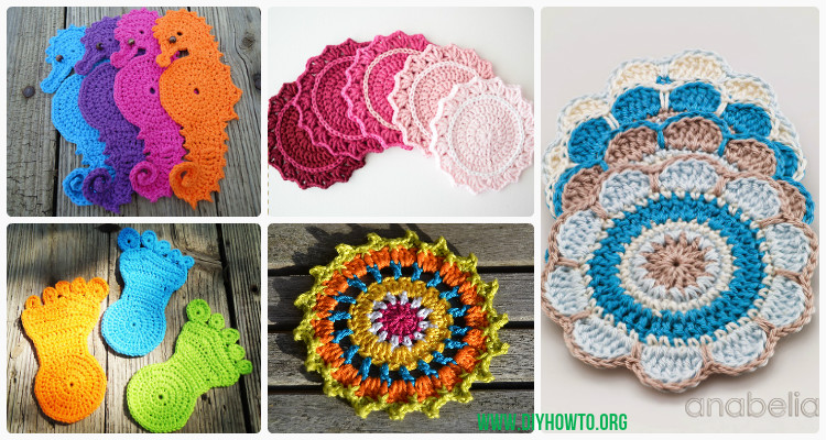 Crochet Coasters Free Patterns