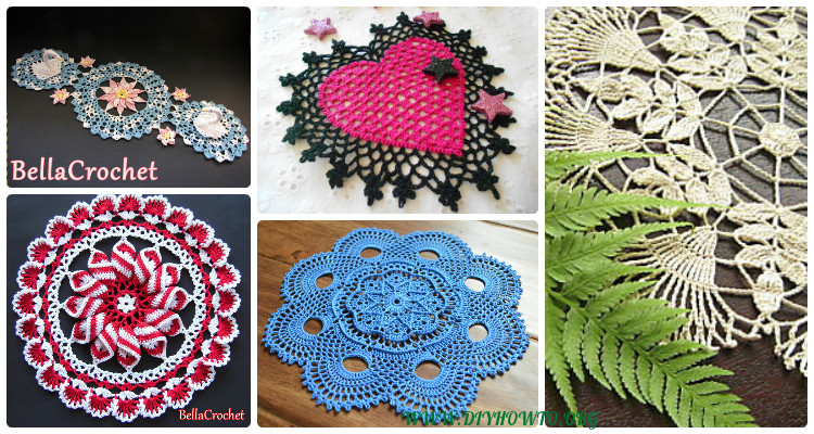 Crochet Doily Free Patterns Instructions