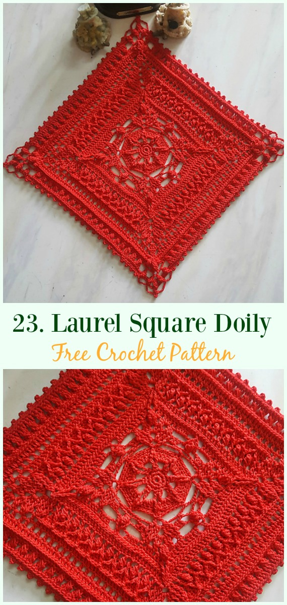 Crochet Doily Free Patterns Amp Instructions