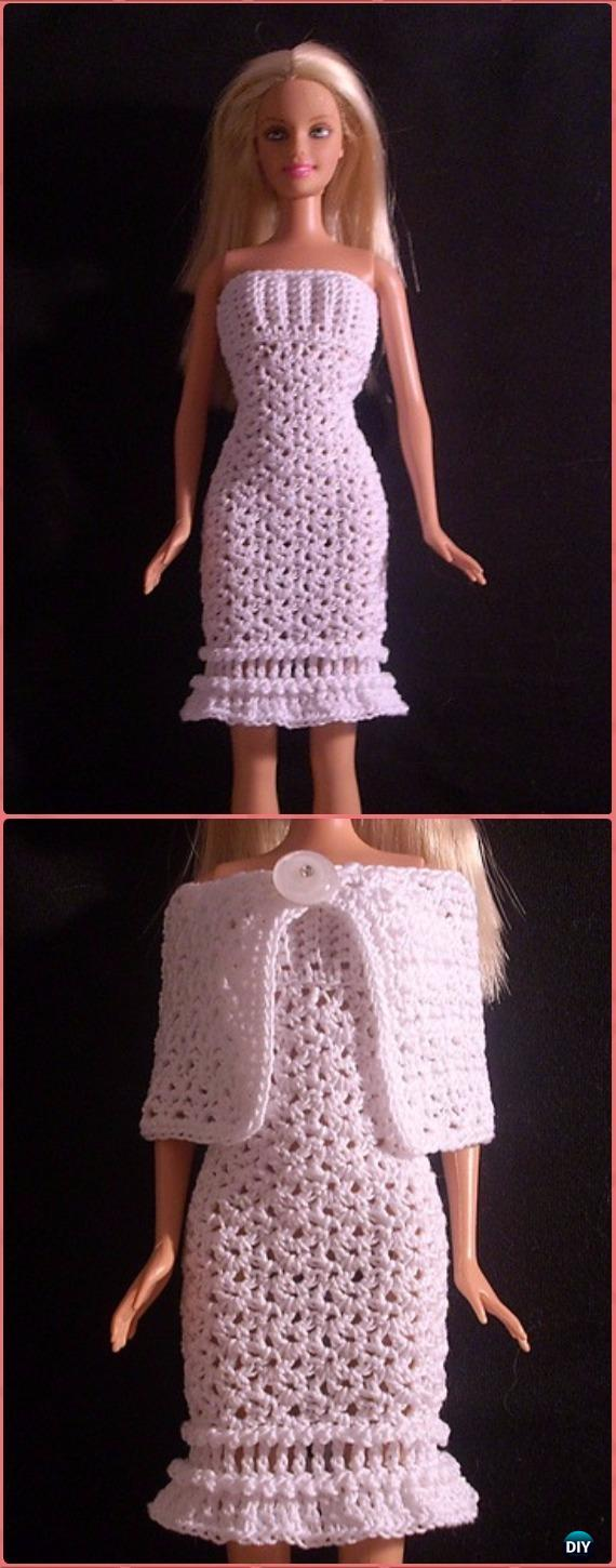 40 Crochet Doll Patterns (Clothing & Accessories) | AllFreeCrochet.com | 1450x570