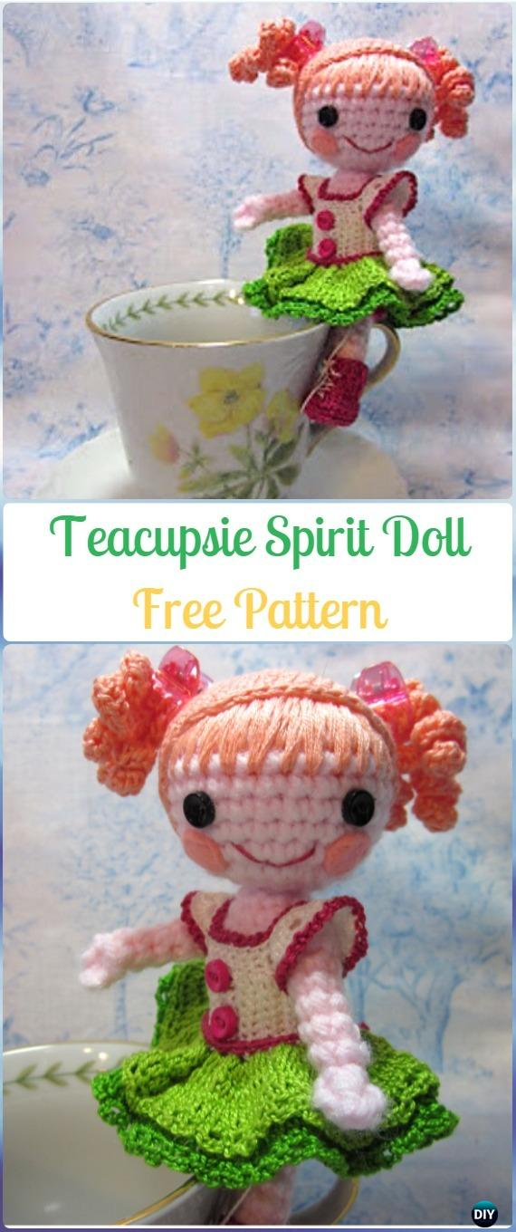Crochet Amigurumi Teacupsie Spirit Doll Free Pattern - Crochet Doll Toys Free Patterns