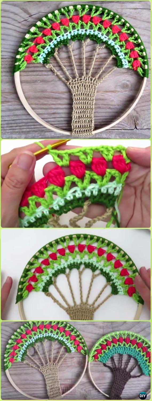 Crochet Dream Catcher Amp Suncatcher Free Patterns