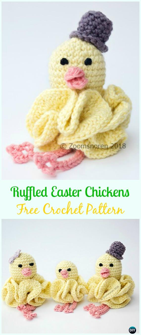 Easter Crochet Chicken Free Patterns Amp Instruction Easter