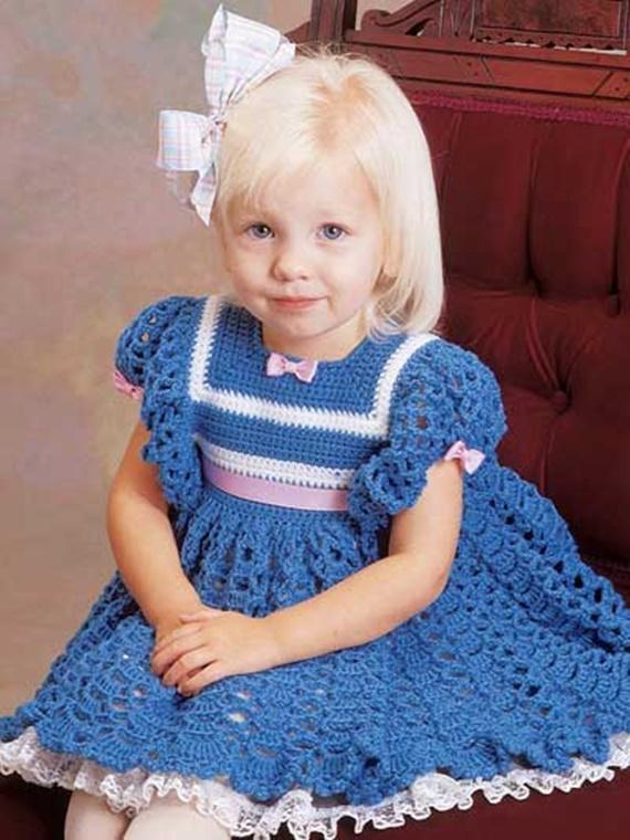Chrissy Dress Crochet FreePattern - #Crochet Girls #Dress Free Patterns