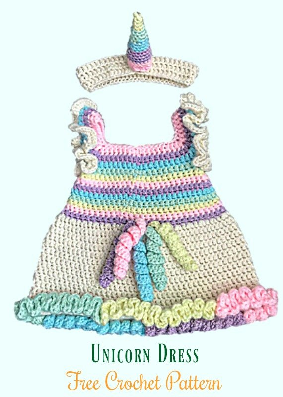 Crochet Garden Lattice Jumper Dress Free Pattern- #Crochet Girls #Dress Free Patterns