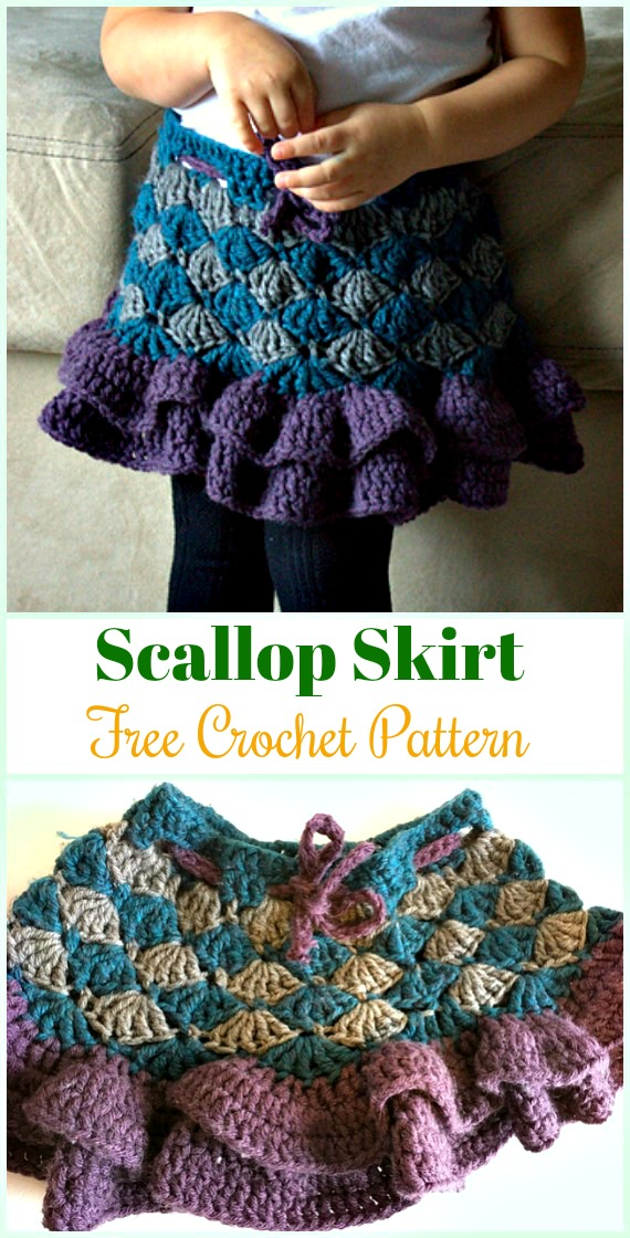 Crochet Girls Skirt Free Patterns
