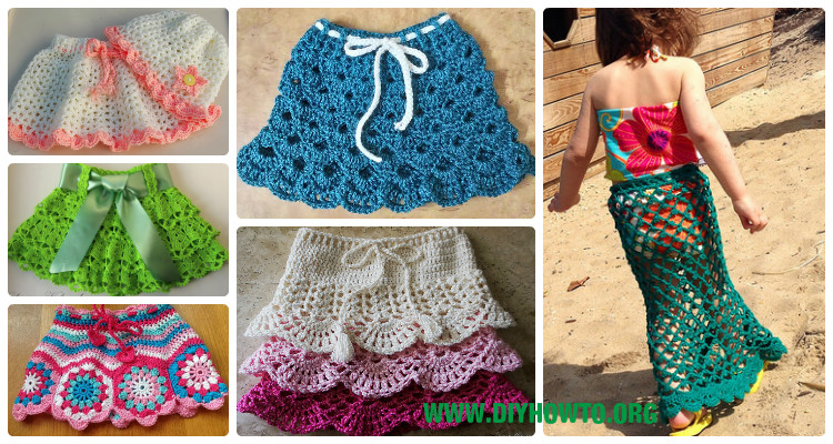 Crochet Girl S Skirt Free Patterns