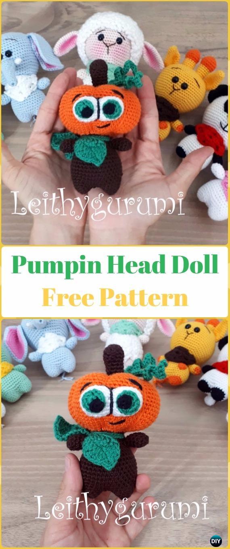 Free crochet pumpkin pattern | Son's Popkes | 1360x570