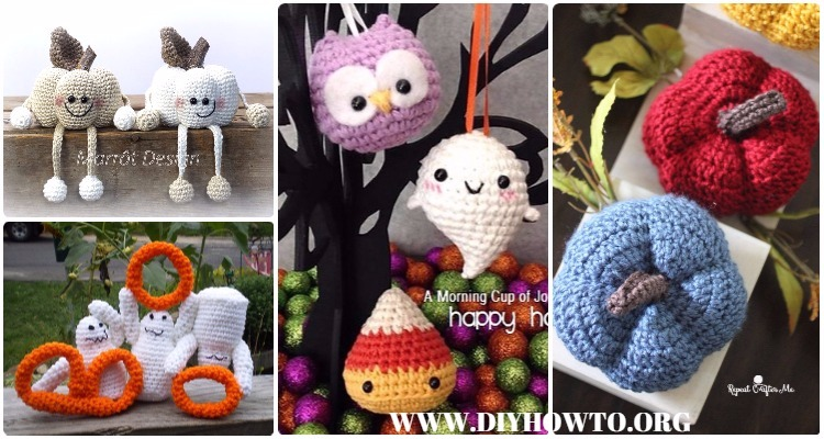Amigurumi Halloween Free : Crochet halloween amigurumi free patterns instructions