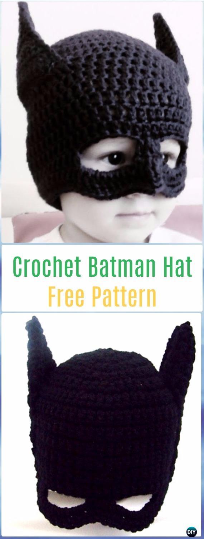 Crochet Halloween Hat Free Patterns Instructions
