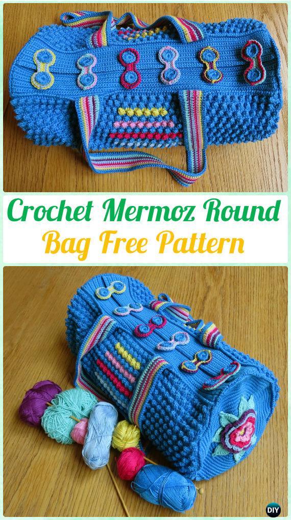 Crochet Handbag Free Patterns Instructions
