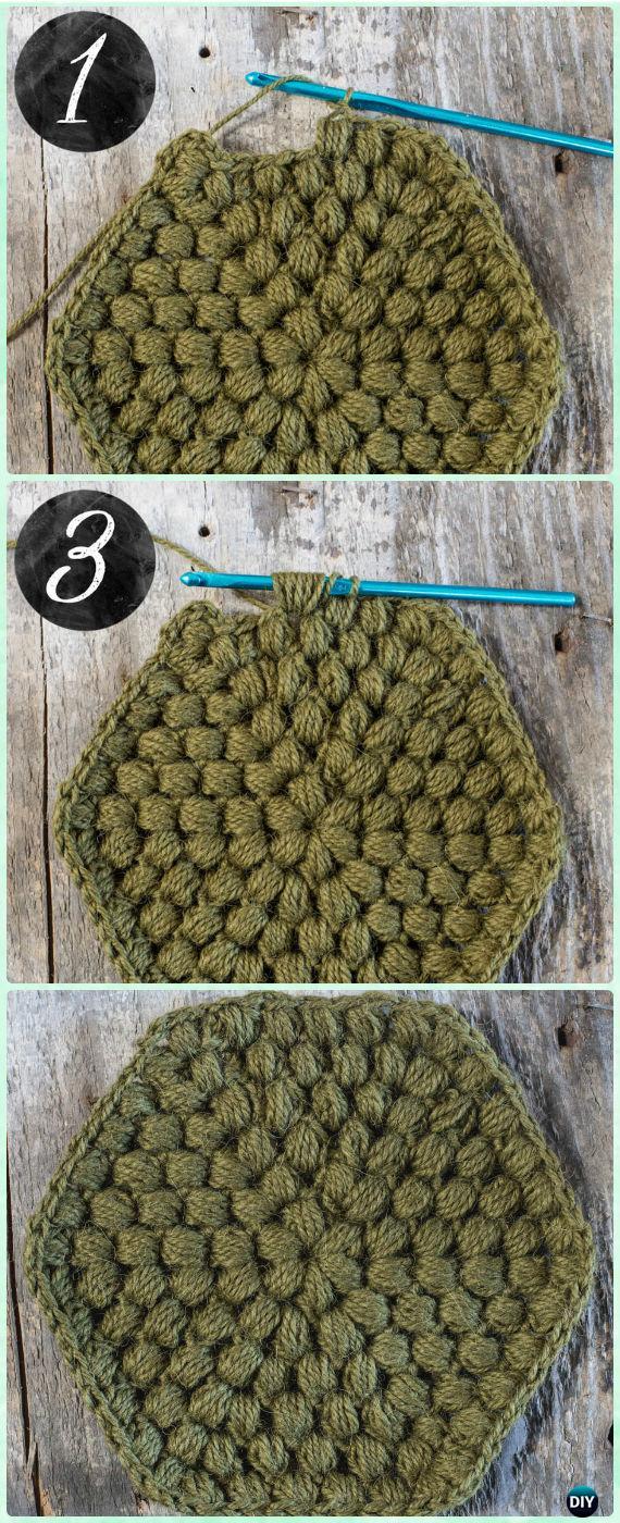 Crochet Hexagon Motif Free Patterns & Instructions