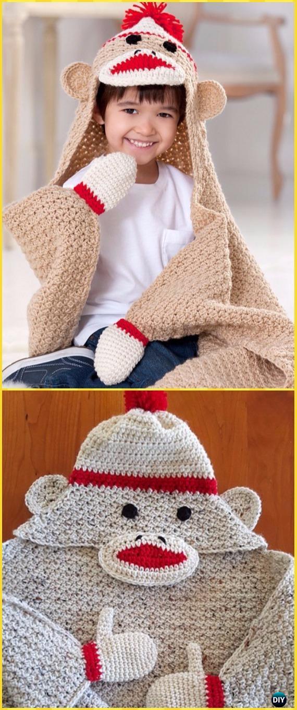 Crochet Hooded Blanket Free Patterns Amp Tutorials
