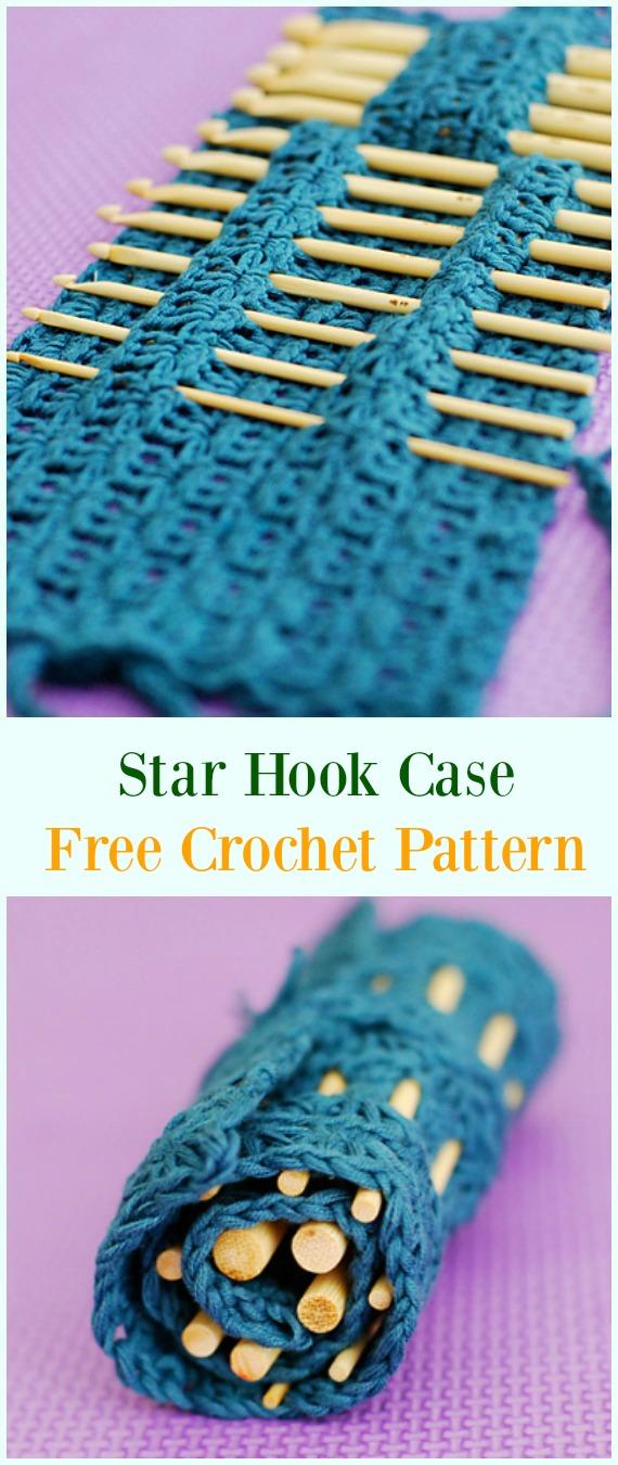Crochet Hook Case Holders Free Patterns