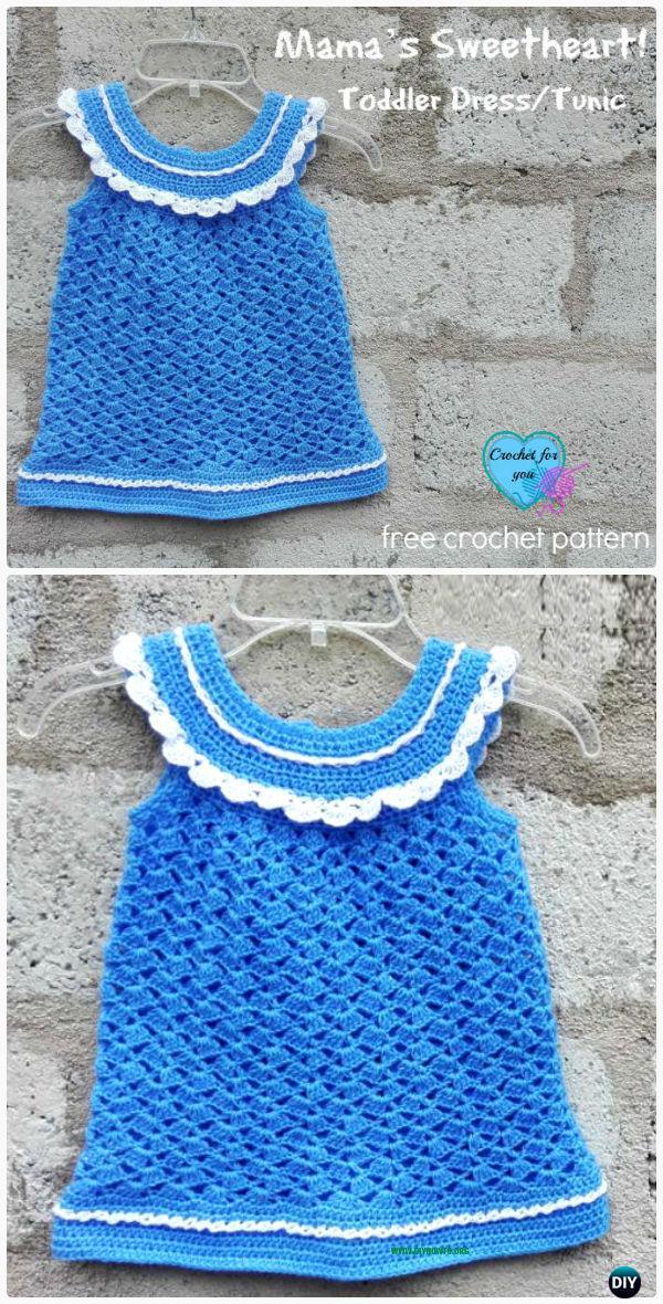 Crochet Kids Sweater Tops Free Patterns