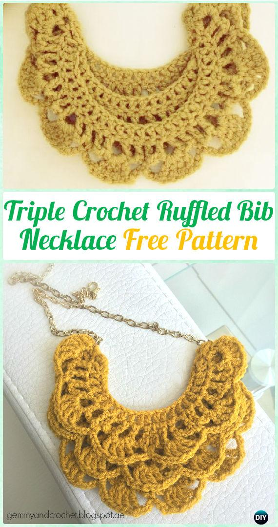 Diyhowto Crochet Necklace Free Patterns 04 Diy How To