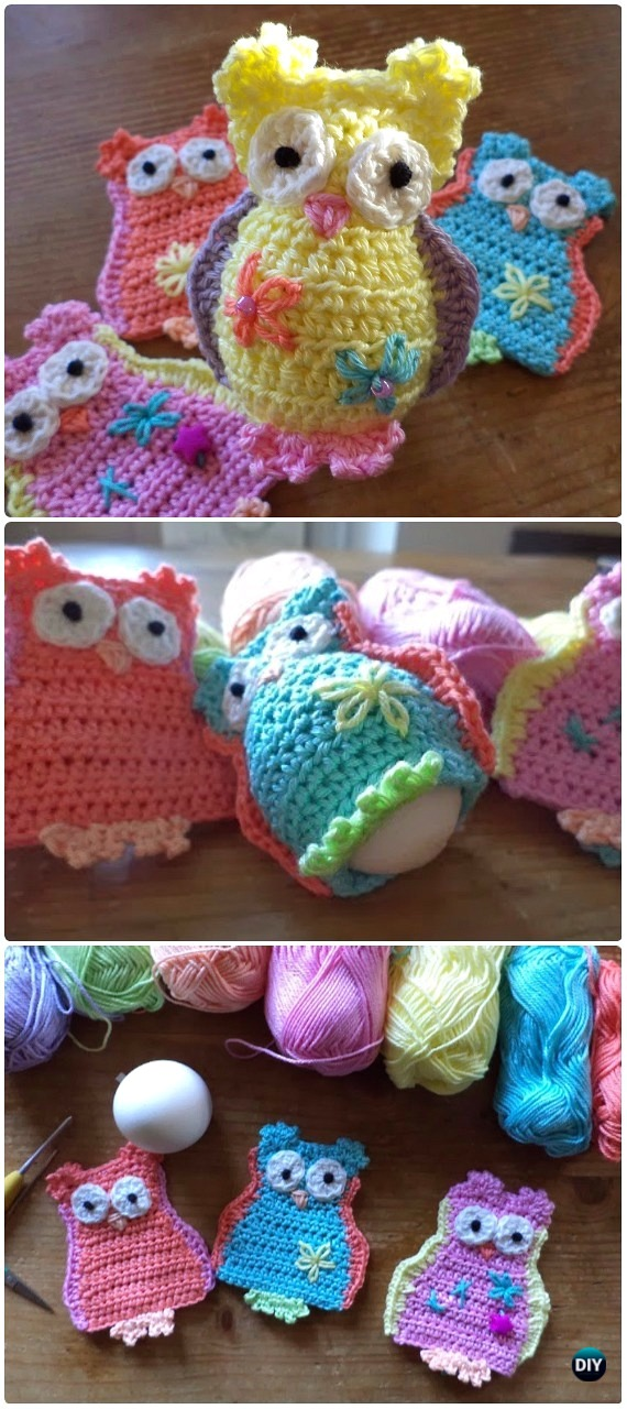 624dc12b9 Crochet Owl Egg Cozy Free Pattern-Crochet Owl Ideas Free Patterns