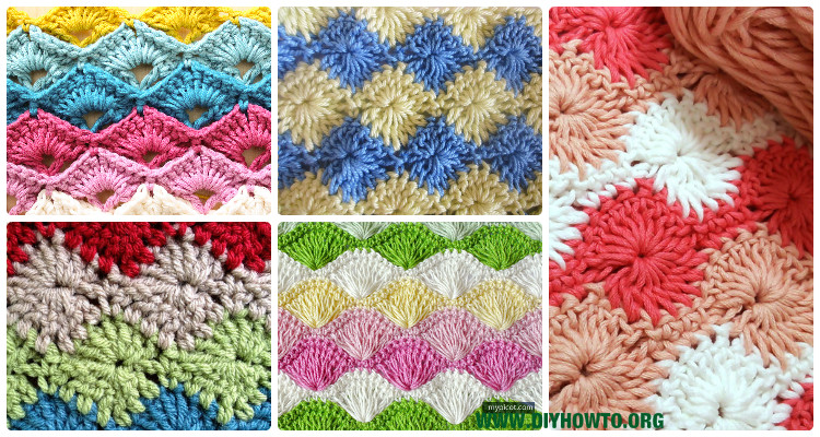 Crochet Radial Increased Stitches Free Patterns