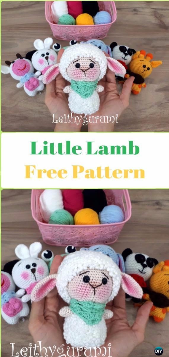 Amigurumi Little Sheep Free Pattern - Crochet Sheep Free Patterns