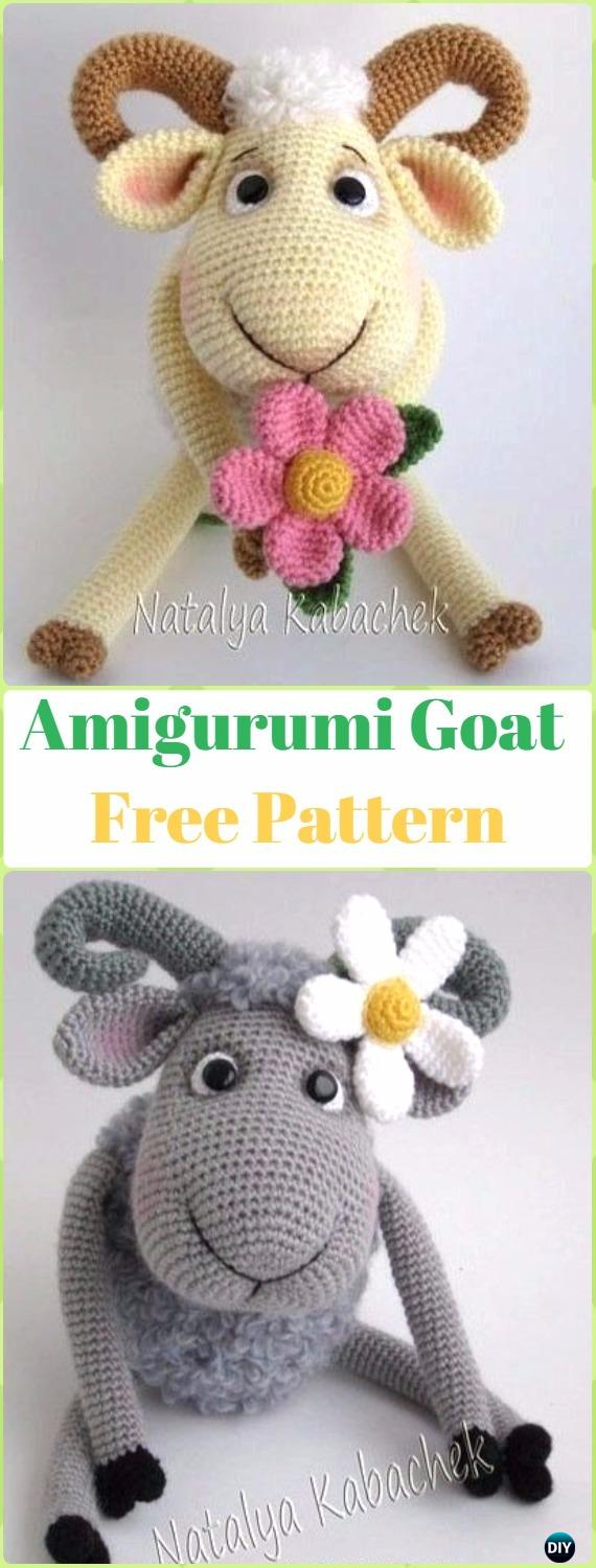 Free Crochet Pattern for Crochet Lamb - thefriendlyredfox.com | 1500x570