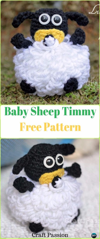 Crochet Baby Sheep Timmy Amigurumi Free Pattern - Crochet Sheep Free Patterns