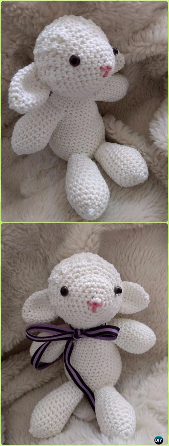 Crochet Sweet Sheep Toy Amigurumi Free Pattern - Crochet Sheep Free Patterns