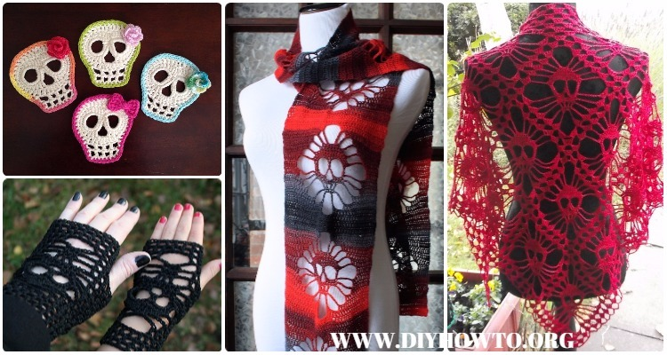 Halloween Crochet Skull Ideas Free Patterns Instructions