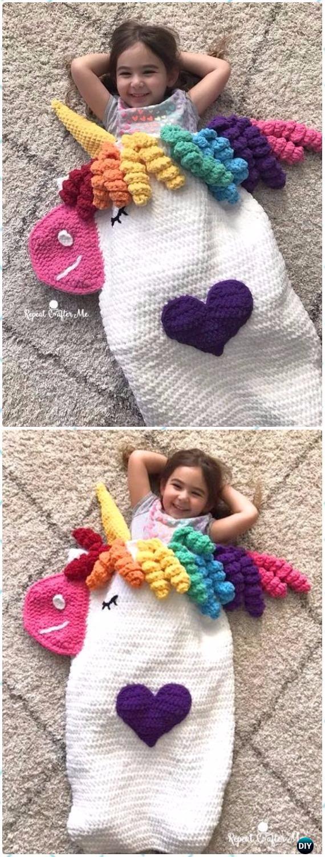 Crochet Snuggle Sack & Cocoon Free Patterns & Tutorials