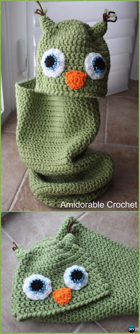 Crochet Baby Owl Cocoon And Hat Set Free Pattern Crochet Snuggle