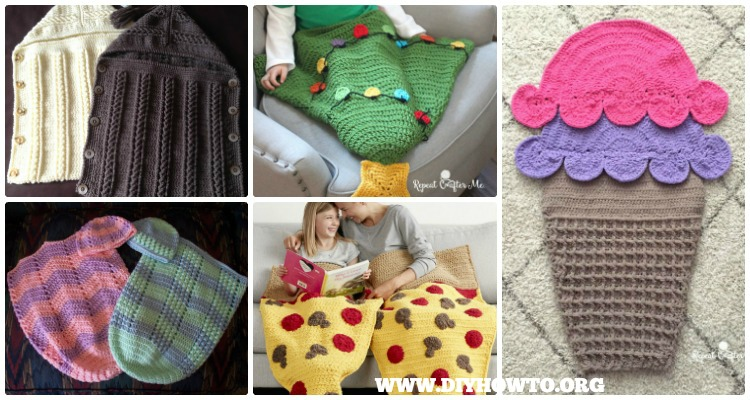 Crochet Snuggle Sack Cocoon Free Patterns Tutorials