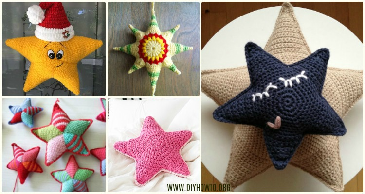 Crochet Star Plush Toys Free Patterns Instructions