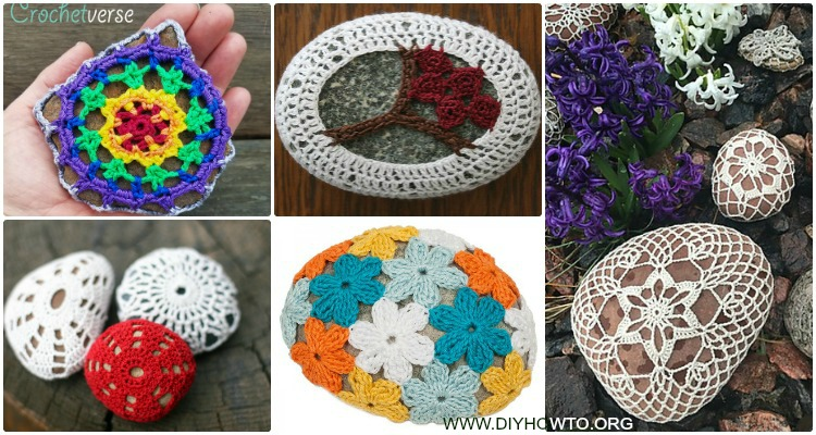 Crochet Pebble Stone Cozy Free Patterns