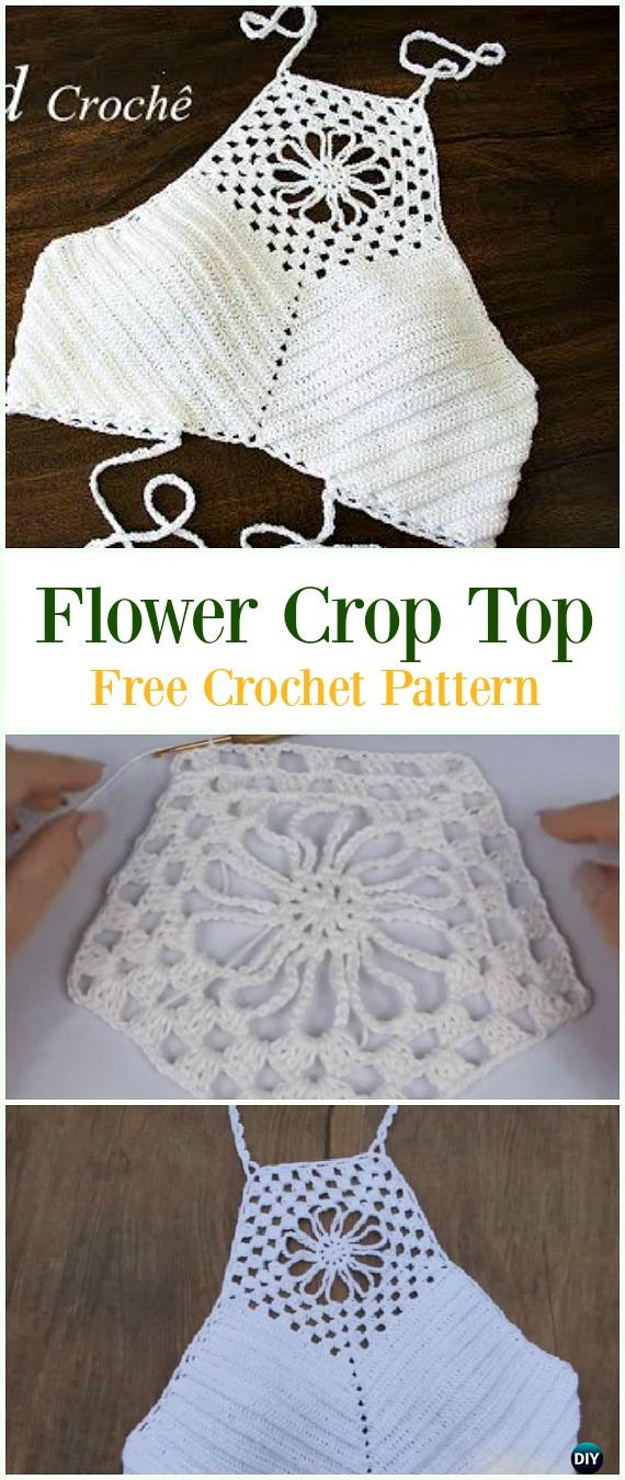 Crochet Summer Halter Top Free Patterns