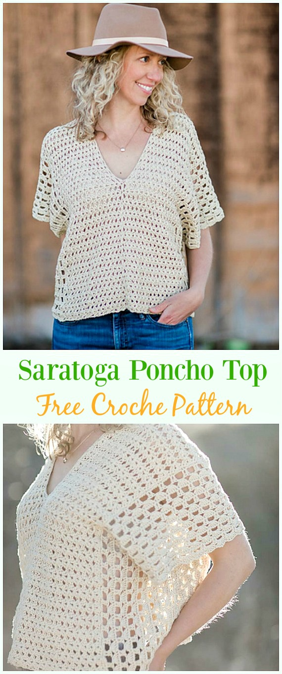 Crochet Women Summer Top Free Patterns
